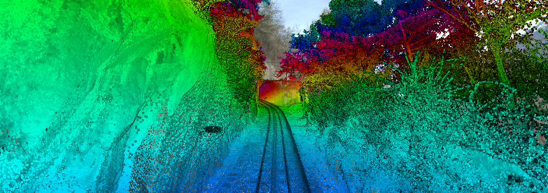 Mobile mapping sur rail