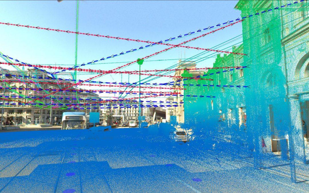 Verkehrsbetriebe Zürich: Erfassung der Fahrleitungen als 3D-GIS-Daten aus Mobile Mapping-Aufnahmen
