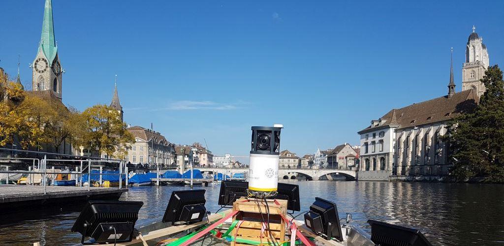 Mobile Mapping auf dem Wasser